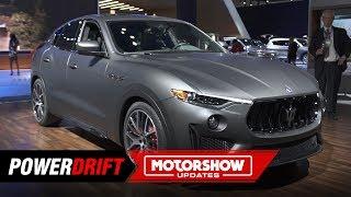 2019 Maserati Levante Trofeo : A Ferrari powered SUV : 2018 LA Auto Show : PowerDrift