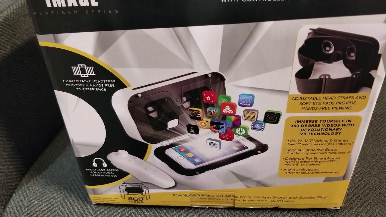 Sharper Image Platinum Series Virtual Reality Youtube