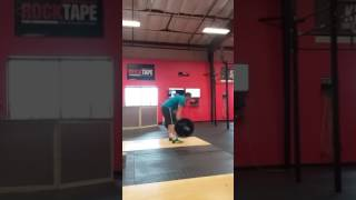 2017 Granite Games Team Qualifier WOD 4  Steven Thunander Wall Balls Deep In Your Snatch