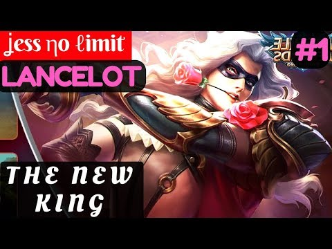 The New King [Top 1 Global] | ʝess ηo ℓimit Lancelot Gameplay and Build #1 Mobile Legends