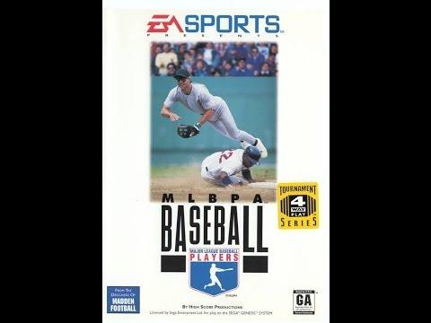 MLBPA Baseball (Sega Genesis) - Game Play