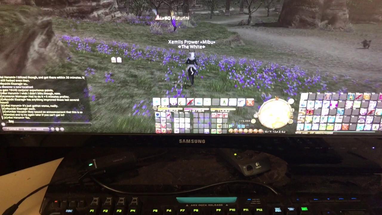 Logitech keyboard update FFXIV Stormblood