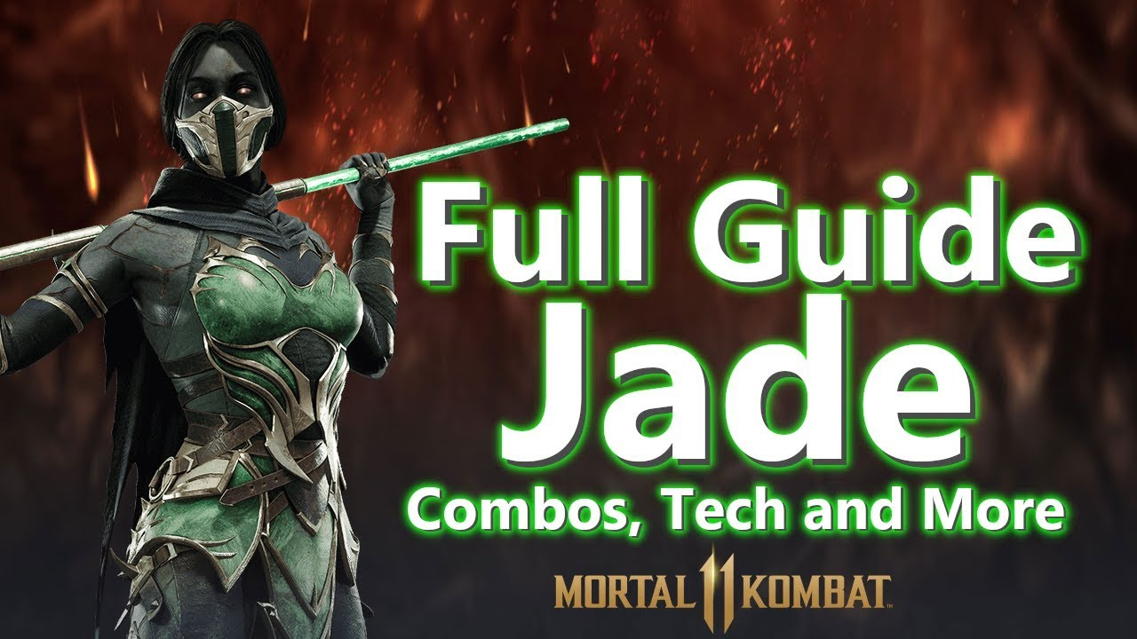 JADE COMBO AND STRATEGY GUIDE | Mortal Kombat 11