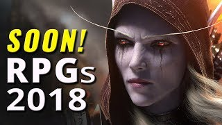 40 Upcoming Role Playing Games of 2018 on PC, PS4, XB1, Switch
