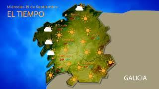 Consulta la previsión meteorológica para este miércoles