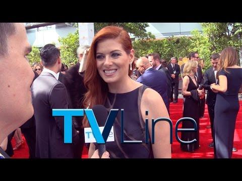 Emmys 2014: Debra Messing Interview - TVLine