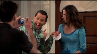 Two and a Half Men - Alan's Final Alimony Cheque [HD]