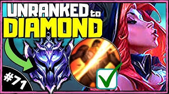 HARD Counter Tanks with Miss Fortune | Unranked to Diamond [Ep. 71] | League of Legends (Season 10)