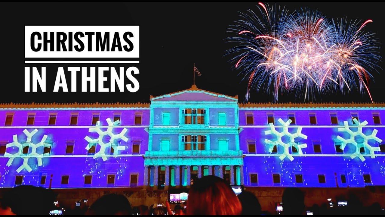 The Arh For Christmas 2020 Christmas spirit! Athens/Greece 2019 2020   YouTube
