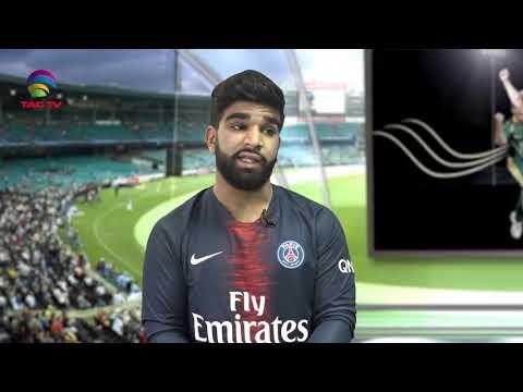 Young Gun Of Canadian Cricket ( Arslan Khan ) - Straight Bat With Devesh Shankar @TAG TV