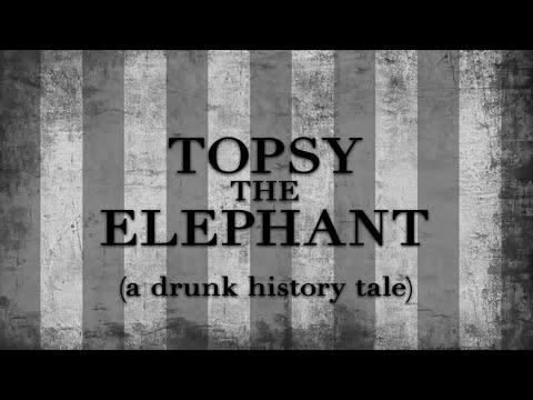 Drunk History - Topsy the Elephant