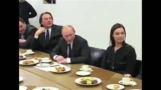 в. Познер сказал Путину в лицо, что он заблуждается. Константин Эрнст поменялся в лице