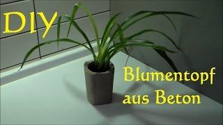 Beton Blumentopf