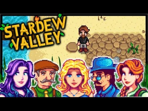MEETING MY FIRST WIFE PENNY!!   Stardew Valley Modded #2