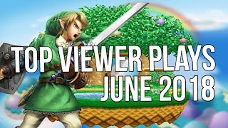 Video Top 15 Viewer Submitted Plays June 2018 - Super Smash Bros. download MP3, 3GP, MP4, WEBM, AVI, FLV Juli 2018