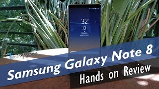 Samsung Galaxy Note 8 Hands on Review [Greek]