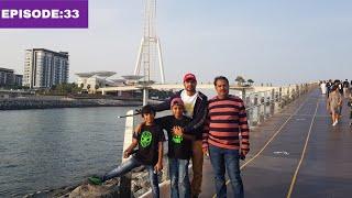 jumeirah lake tower Exploring with father,ഉപ്പ അടിച്ചു പൊളിക്കട്ടെ അല്ലെ 😁/World Ride|EP:33|