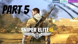 Sniper Elite 3 Gameplay Walkthrough Part 5 [Siwa Oasis] (PC Max settings)