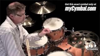 sabian 16 b8 pro o zone crash cymbal played by greg zeller 31600b 1041012b