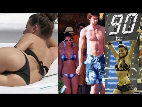 The Girlfriend Of Pau Gasol Silvia Lopez Castro - NBA WAGs