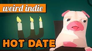Hot Date: Rude pug dog-dating simulator! (free game)   PC gameplay