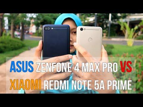 Xiaomi Redmi Note 5a Prime VS Asus Zenfone 4 Max Pro