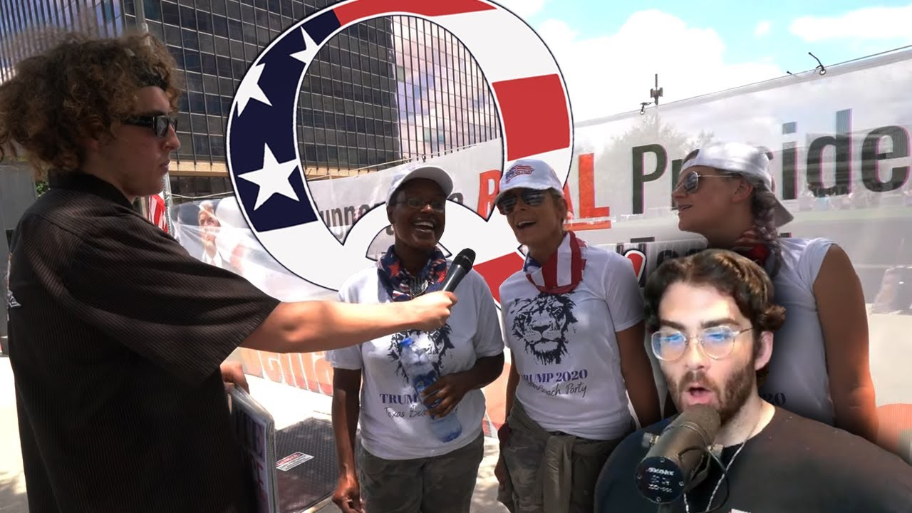 Download Andrew at the INSANE Q Anon Conference (Channel 5)