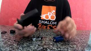 Buzina elétrica para bicicleta