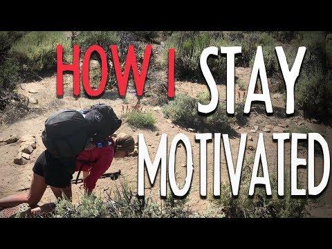 How I Stay Motivated on a Thru hike