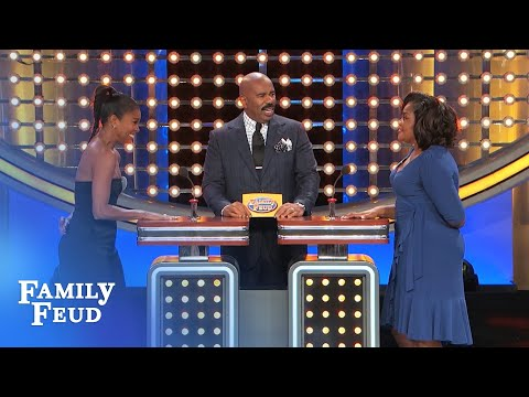 Mo'Nique and Gabrielle Union face off on the Feud! | Family Feud
