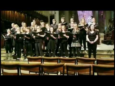 Hortonville High School Choir Performance at St  John's Cathedral in NYC (4/30/2019)