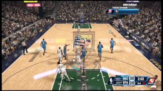 NBA 2k14 GM Mode Utah Jazz Episode 1 Game 1 (XBox One Gameplay)