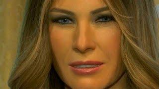 Madame Tussauds in New York unveils new Melania Trump waxwork