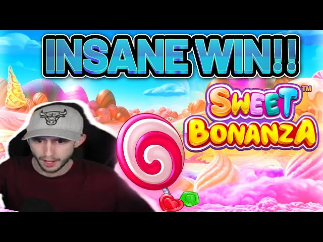 INSANE WIN! SWEET BONANZA BIG WIN - €3 bet BONUS BUY on Casino Slot from CasinoDaddy