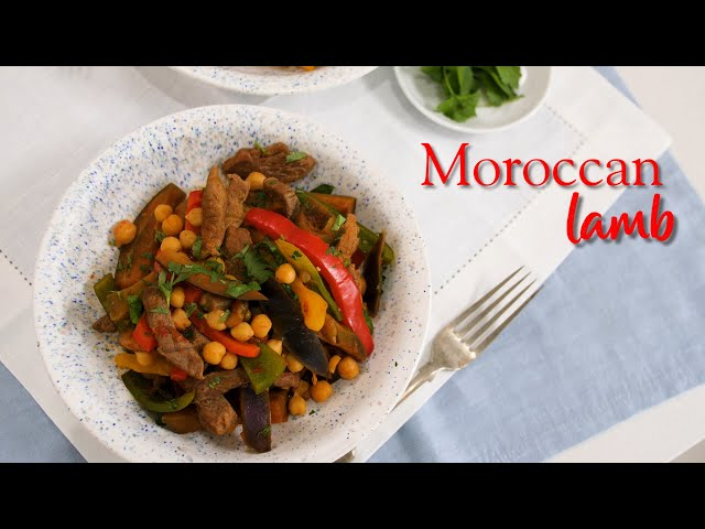 Slimming World Moroccan lamb recipe - ½ Syn per serving