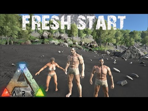 ARK Survival Evolved - Fresh Start Gameplay E1
