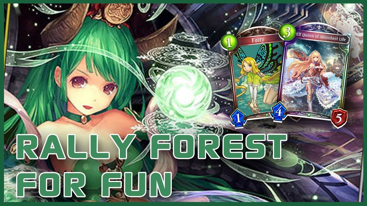 RALLY FOREST, Not The Best But It's New & Fun to Play | Shadowverse Gameplay | Fortune's Hand