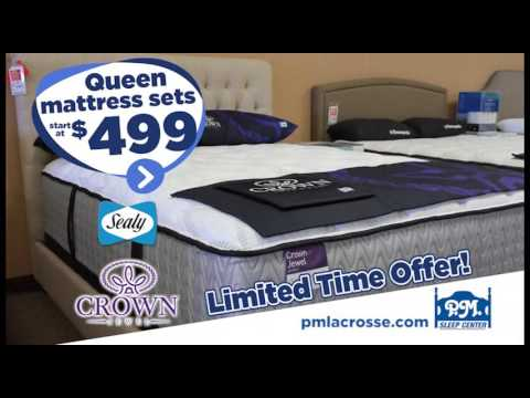 Sealy Crown Jewel Mattress Sale Pm Sleep Center Youtube