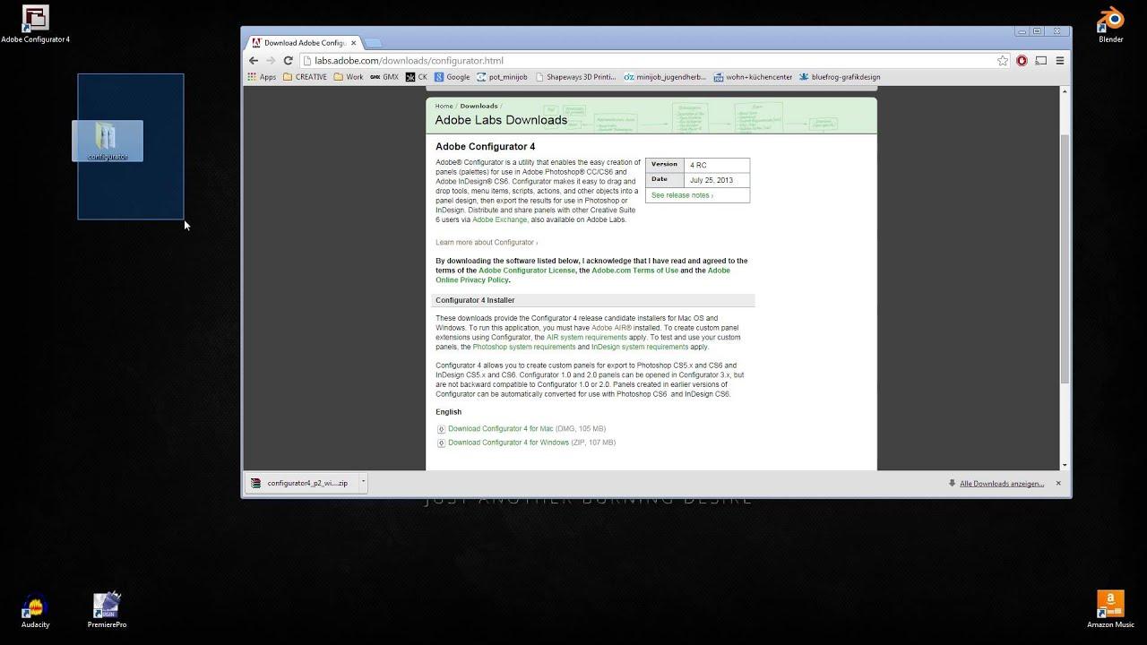 [GER] Adobe Configurator - Tutorial