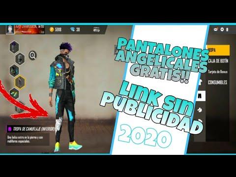 Como Conseguir Los Pantalones Angelicales En Free Fire Gratis 2019 2020 Youtube