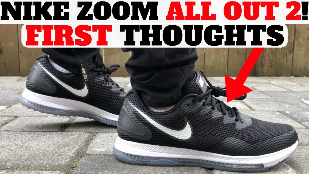sale retailer 7761a 1f69d New Nike ZOOM ALL OUT LOW 2 FIRST THOUGHTS! + ACRONYM x VAPORMAX Unboxing