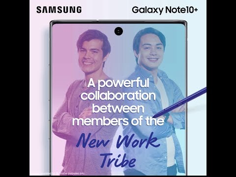 Galaxy Note10: Next-level Power With Erwan & Jeff