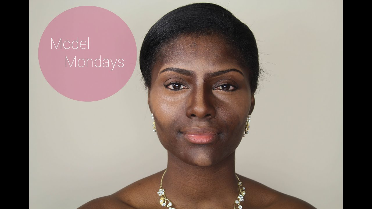 MODEL MONDAYS: Highlight, Contour, Foundation (Dark Skin): Bridal ...