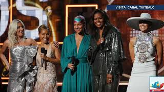 Lady Gaga, Jennifer Lopez, Michelle Obama y Alicia Keys causan furor en los Grammys 2019