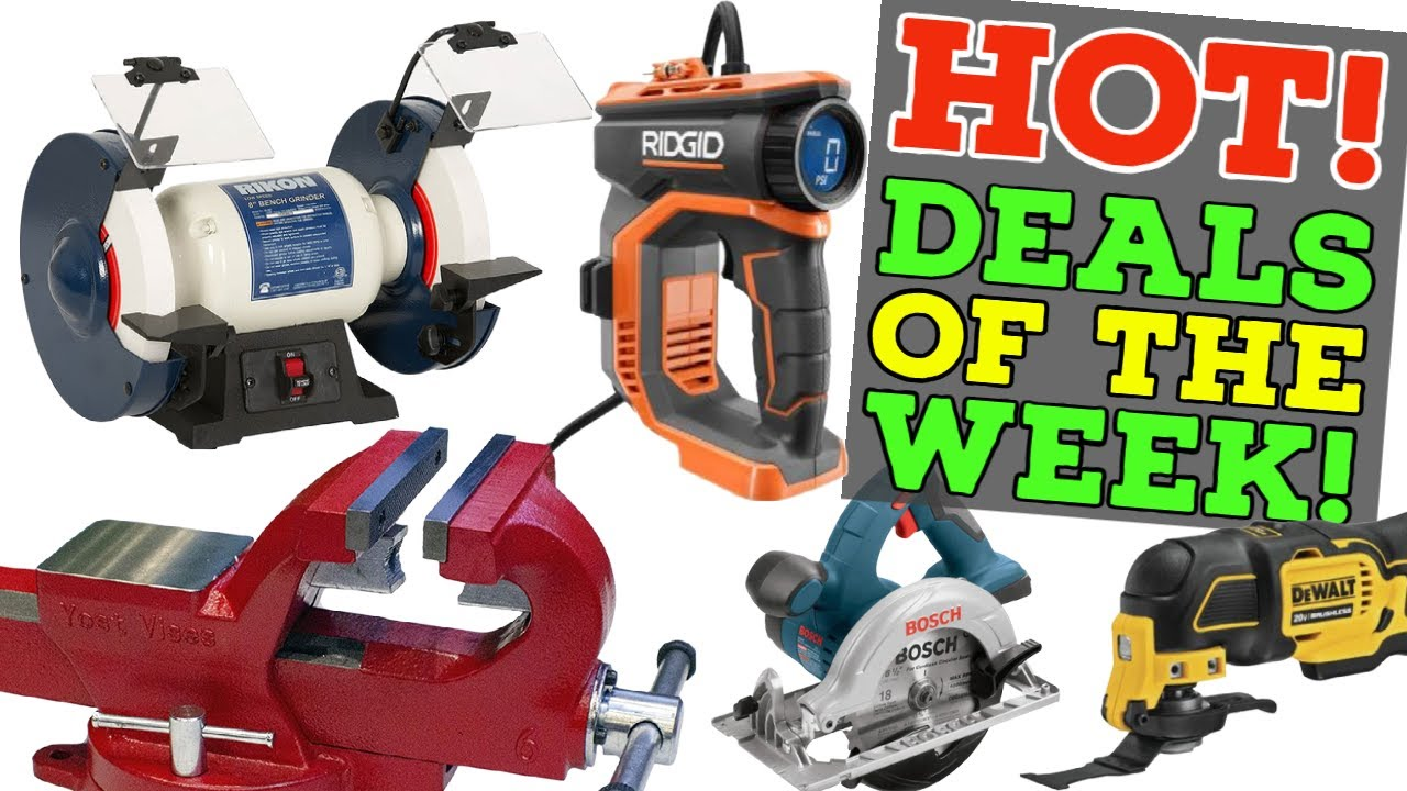 Hot Tool Deals of the Week + Mother's Day Gift Ideas!  (5/3/21 #DoTDotW)