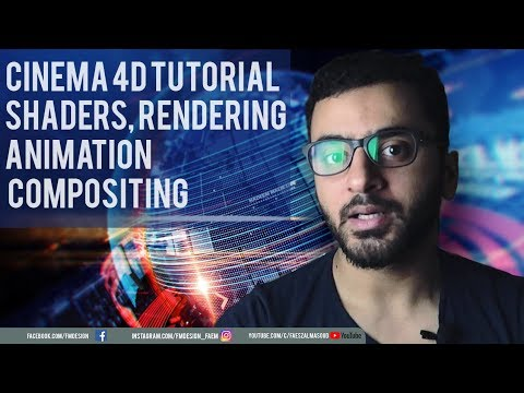 Cinema4d After Effects Tutorial   Broadcast Design thumbnail