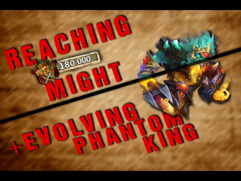 Castle Clash Evolving Phantom King And 180k Might
