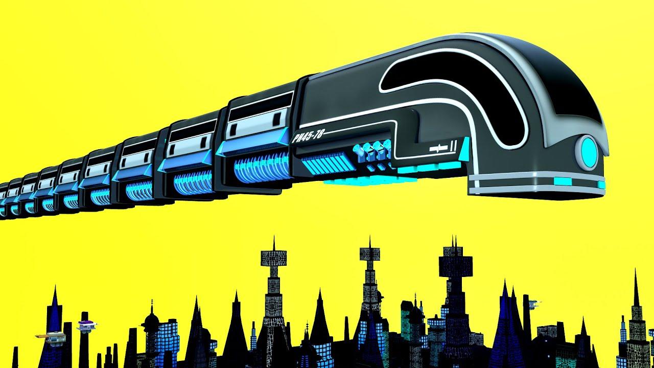 New York City - Toy Factory Cartoon Train