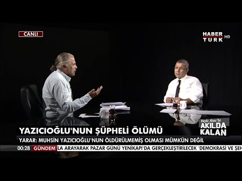 Mete Yarar Habertürk TV'de  3. bölüm  [Veyis Ateş'le Akılda Kalan]