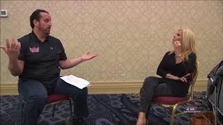 Terri Runnels & Tommy Dreamer On Girl On Girl Kiss On TV
